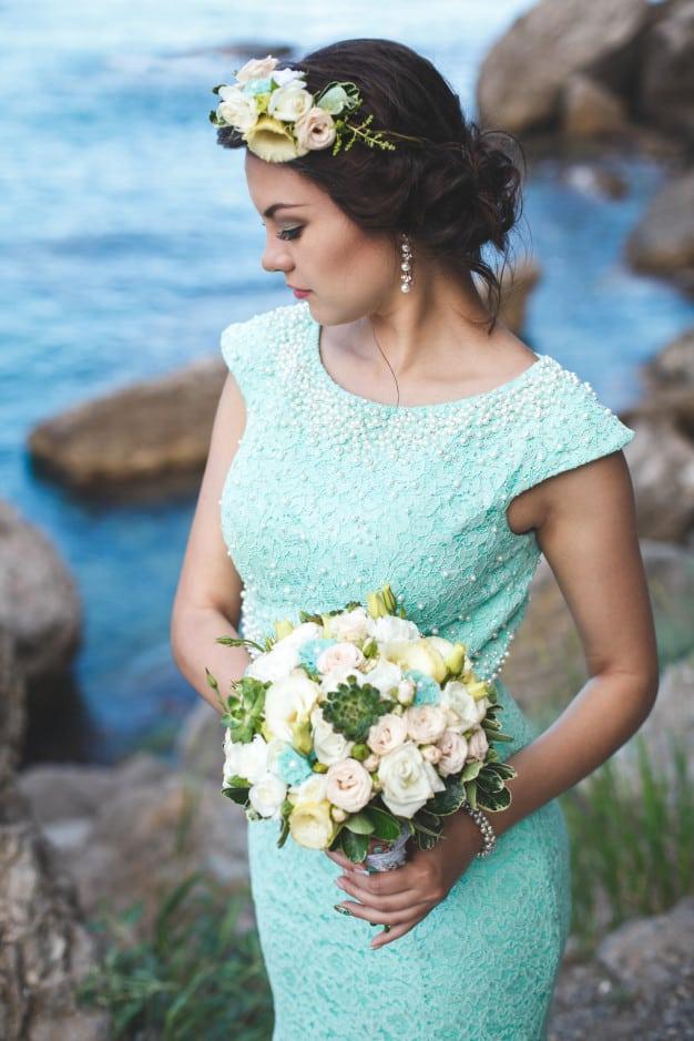Boda Color turquesa (Tiffany)