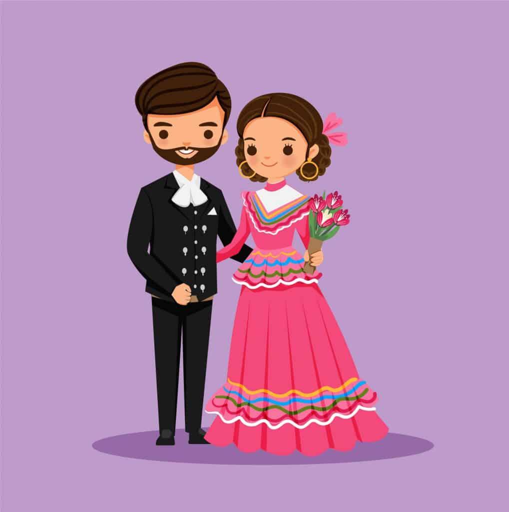 invitaciones de boda mexicana