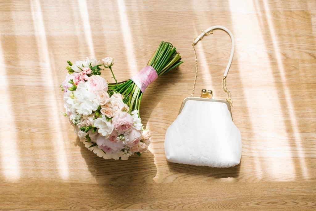 bolsa de mano para novia