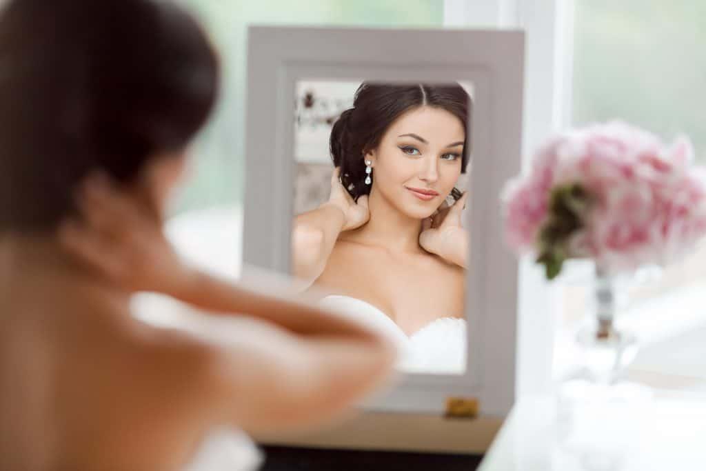 espejo para la novia