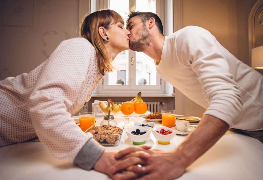 come alimentos saludables antes de la boda