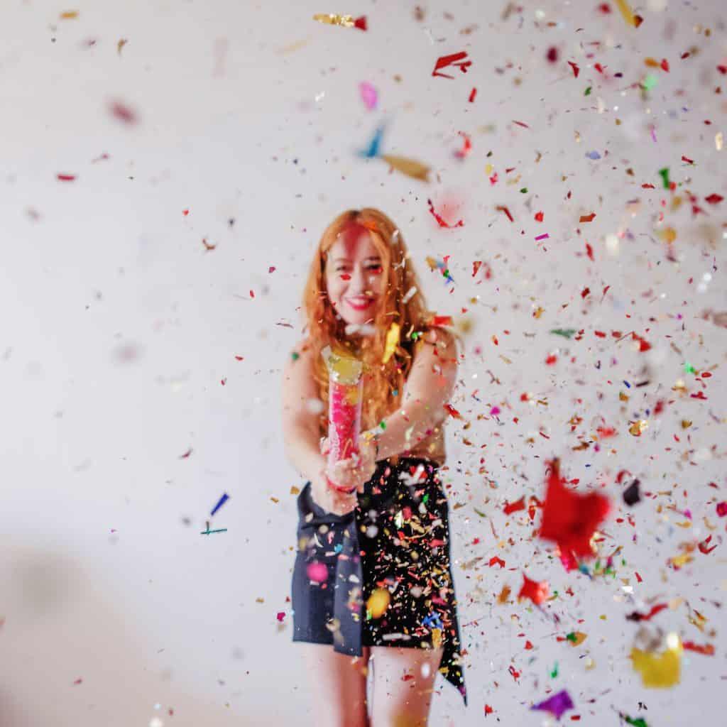 felicita a la quinceañera
